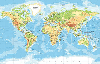 Image World map